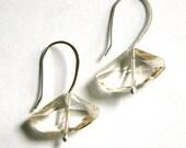 Oblong Swarvoski Crystal Earrings