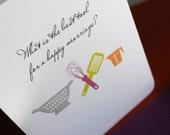 Happy Marriage- Wedding or Bridal shower greeting card