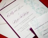 Megan Wedding Invitation set