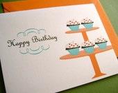 Cupcakes- Birthday Card