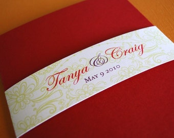 Lola- wedding invitation