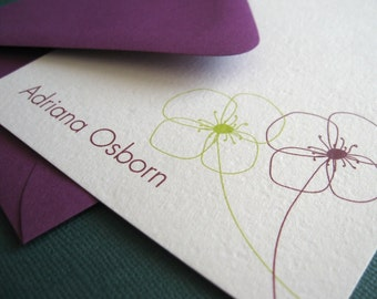 Design 04- Personalized Stationery Set of 8