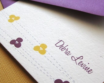 Design 05- Personalized Stationery Set of 8