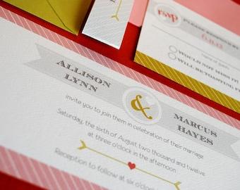 This is Love- wedding invitation