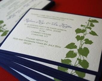 In the Garden- Invitation