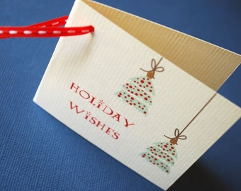 Holiday Gift Tags- set of 8