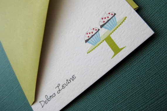 Design 07- Personalized stationery, set of 8