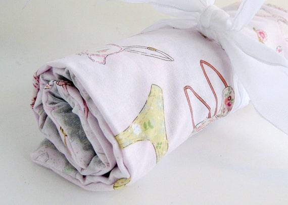 Lavender Drawer Liner- Pink Fun Fabric // Lavender Sachet // Suitcase Liner