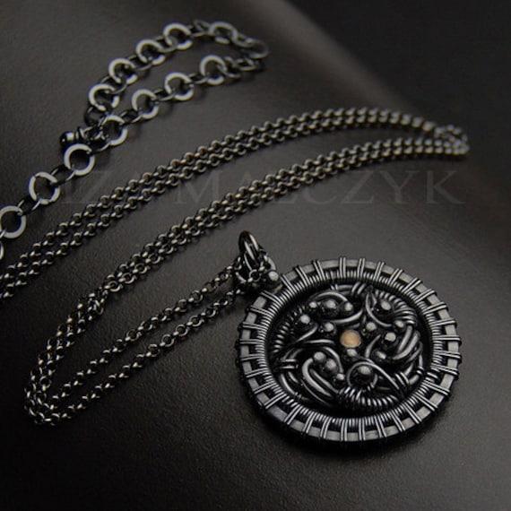 the Flamme necklace by Iza Malczyk