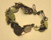 Shoe Button Bracelets