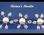 SILVER CRYSTALS AND WHITE PEARLS....