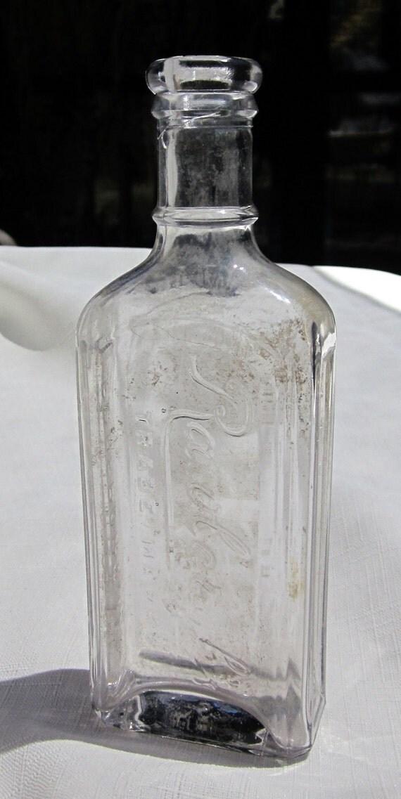 Antique Druggist Bottle (Amethyst241)