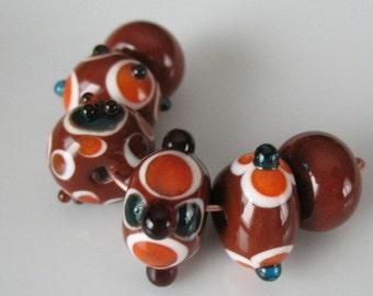 Glass beads-handmade lampwork beads-loose beads-SRA