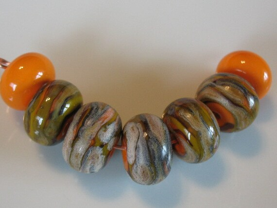SALE-20% off entire site-Enter code Thanks20--handmade lampwork beads-loose beads-glass beads-SRA