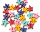 Tiny Star Buttons
