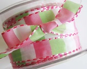 Mint and Pink Ribbon