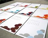 2012 Printable Wall Calendar - Lola
