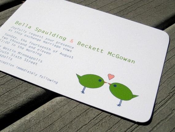 Bella Wedding Invitation Sample Set