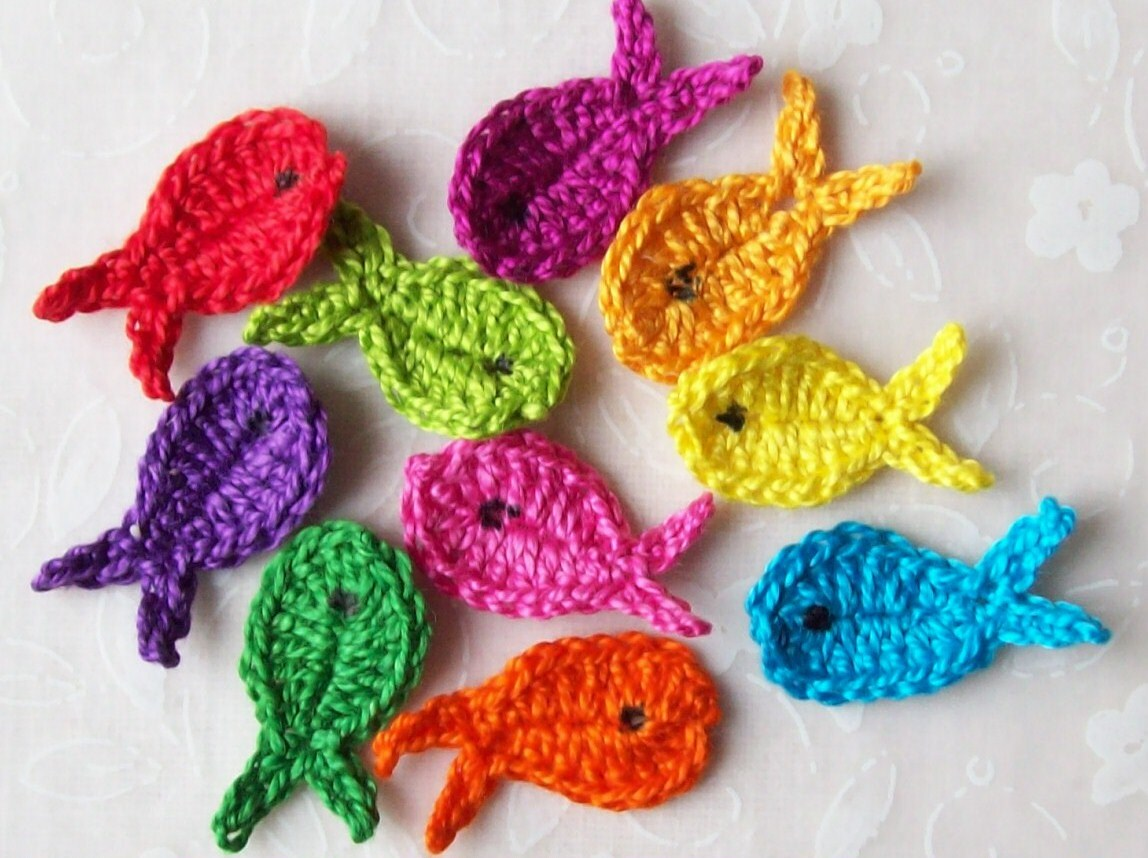 Free Crochet Patterns Of Fish : Unavailable Listing on Etsy