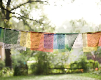 Prayer Flags - 8x12 Print