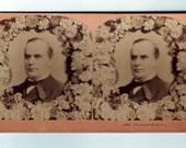 Vintage Stereoview President William McKinley