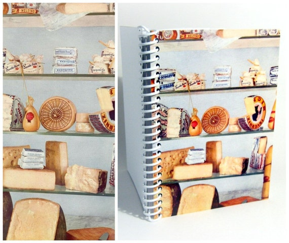 Italian Cheese - Spiral Notebook - 4x6in