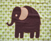 E is for Elephant Lovey