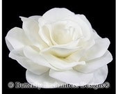 Ivory Gwyneth Gardenia Bridal Hair Flower Clip