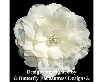 Pearl Ivory Audrina Bridal Hair Flower Clip