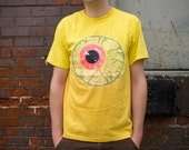 Eyeball - Handpainted Full Length T-Shirt