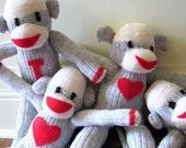 Sock Monkeys - CUSTOM ORDER AVAILABILITY
