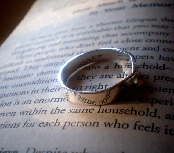 RESERVED - Simply Monolithic Sterling Silver Thick Wedding Band