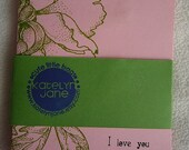 Note Cards - I Love You