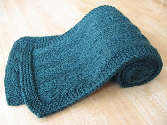 Randall Herringbone Scarf knitting pattern with free offer