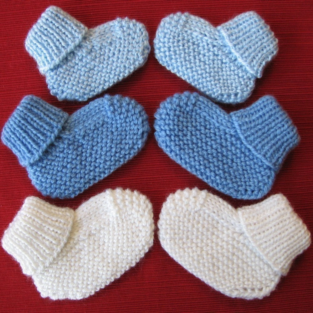 Wool Diaper Cover Knitting Pattern : Cozy Baby Booties knitting pattern with free offer for