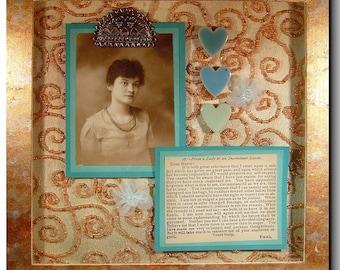 antique photo collage