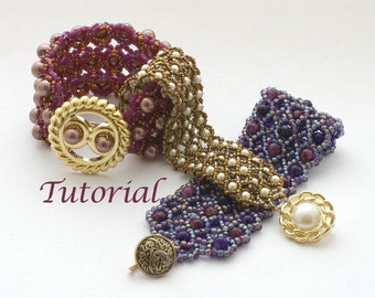 Beaded Bracelet Tutorial Net Options Digital Download