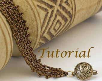 Beaded Bracelet Tutorial Net of Dreams Digital Download