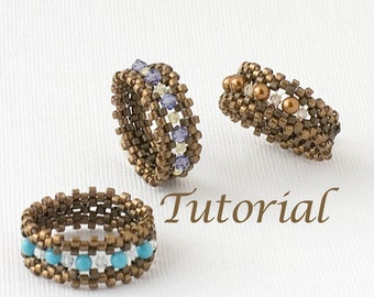 Beaded Ring Tutorial I'm with the Band Digital Download