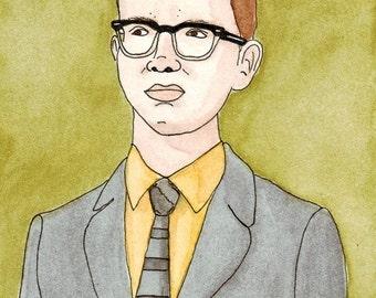 Digital Print of illustration Albert