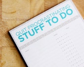 ONLY ONE LEFT - Daily Chores Planner - To Do Notepad