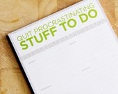Weekly Planner - Ecofriendly To Do Notepad
