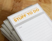 3 Get Your Shit Together To Do Notepad - CLEARANCE SALE - 50% OFF