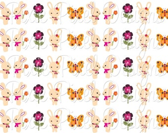 INSTANT DOWNLOAD - M2MG All About Buttons Print Your Own Ribbon Graphics