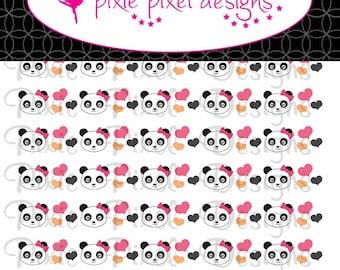M2MG Panda Academy Print Your Own Ribbon Graphics