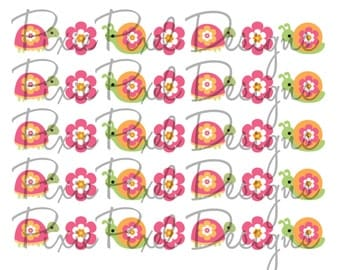 M2M Growing Flowers Print Your Own Ribbon Graphics