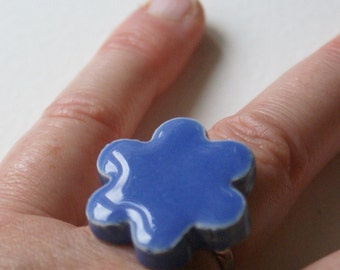 Flower ring - choose your color