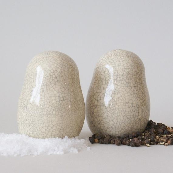 Salt and pepper shakers - babuschka style