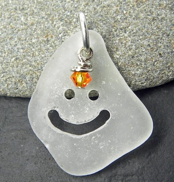Come on Get Happy, Sea Glass Pendant