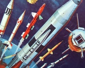 How and Why Wonder Book of Rockets and Missiles Vintage 1960